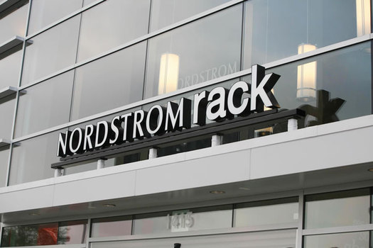 nordstrom rack exterior sign
