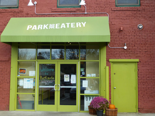 park side eatery exterior