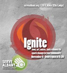 serve albany ignite 2014 poster