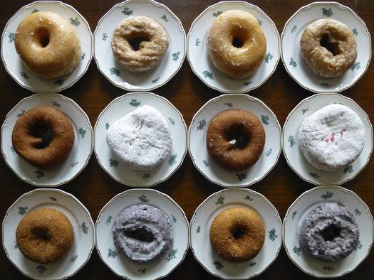 Stewart's mixed dozen donuts