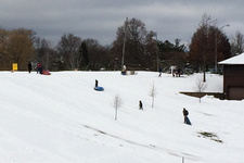 sledding at capital hills albany