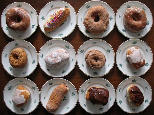 Schuyler Bakery mixed dozen donuts