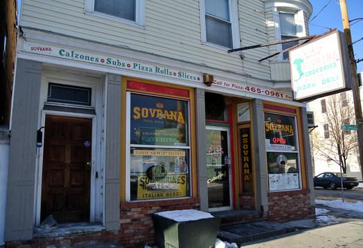 Sovrana's exterior 2015 January