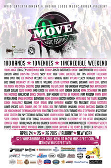 MOVE music festival poster 2015