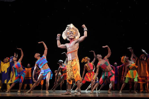 The Lion King touring production 2015-2016