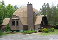 berne geodesic dome house