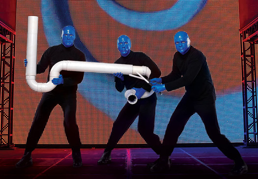 blue man group drumbone