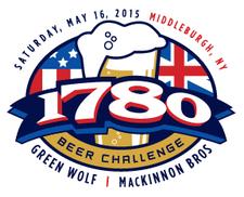 1780 beer challenge logo