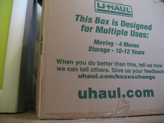 moving box closeup