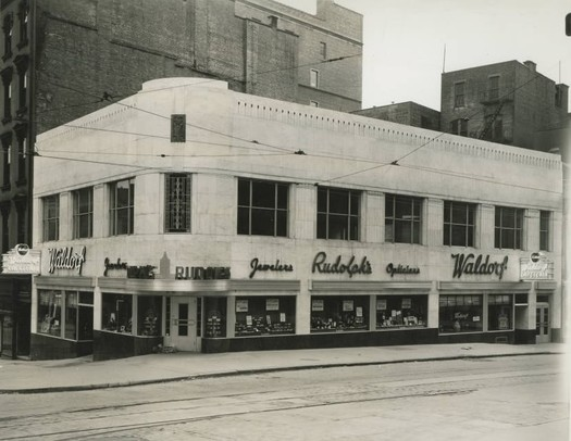 waldorf cafeteria downtown albany 1945