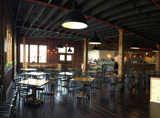 Druthers Albany dining area