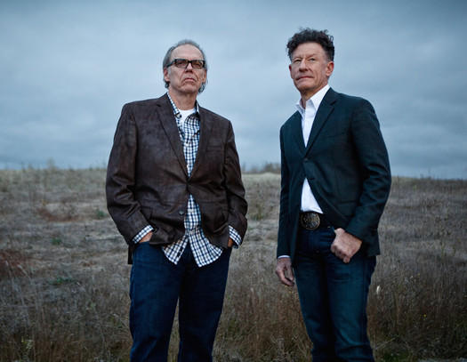 John Hiatt and Lyle Lovett 2015