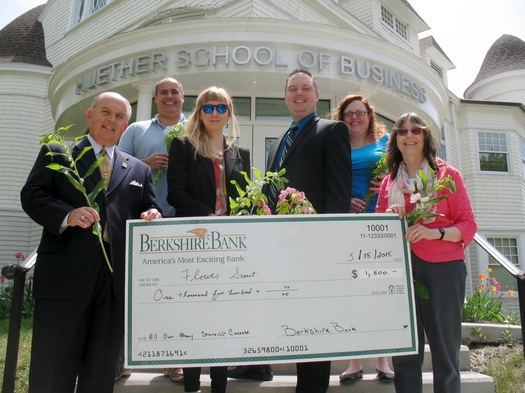 startup grant 2015 flower scout big check