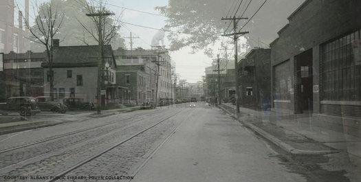 Broadway Albany 1938-2015 dissolve