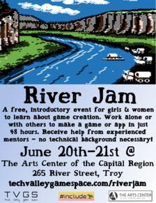TVGS River Jam Flyer