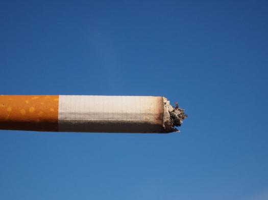 cigarette against a blue sky Flickr user Fried Dough CC