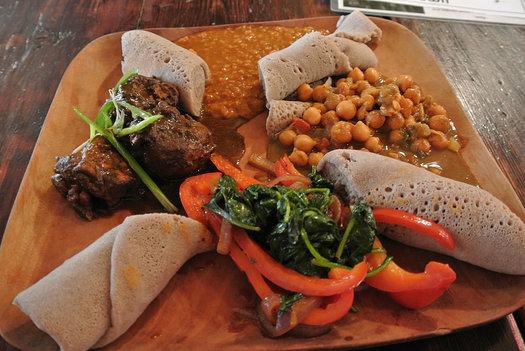 umana ethiopian platter