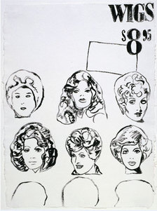 wigs andy warhol
