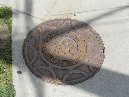albany sanitary sewer cover