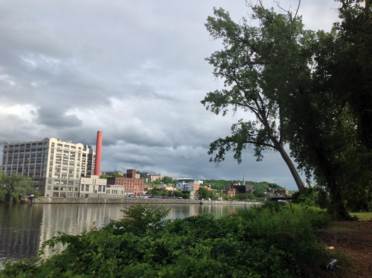 center island view of troy