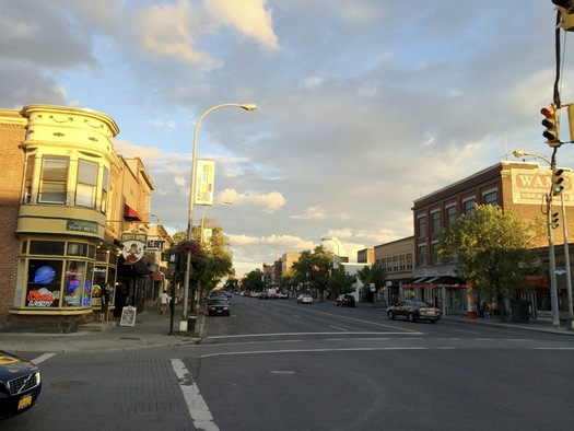 Central Ave 2015 August sunset