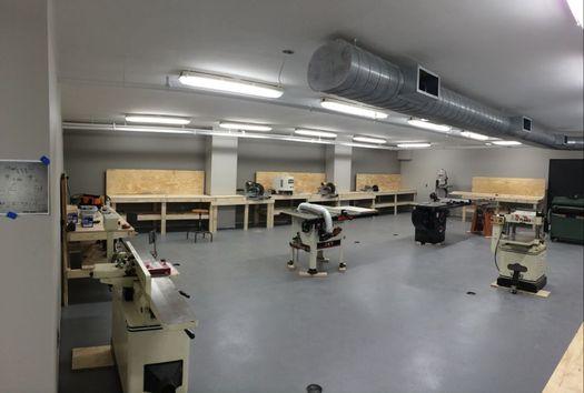 TVCOG Quackenbush wood working shop