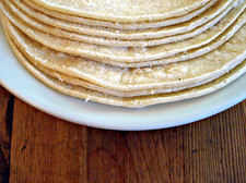 tortillas on plate Flickr cbertel CC