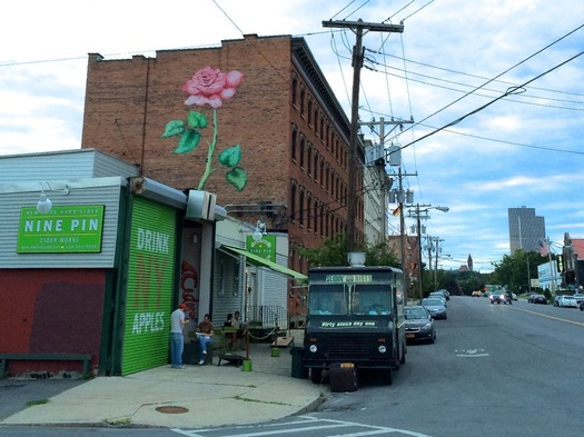 warehouse district rose mural refreshed 2015-08-27