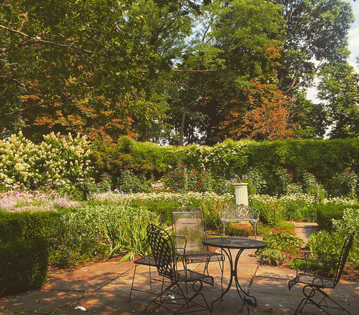 Ten Broeck Mansion gardens 2015