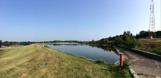 reservoir pano