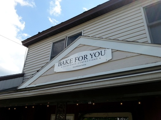 bake for you exterior sign