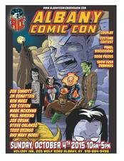 albany comic con 2015 fall poster