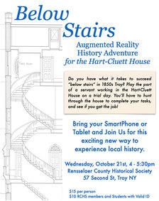 rchs below stairs poster