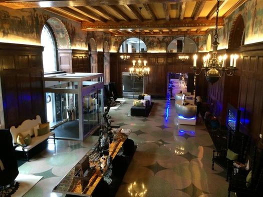 renaissance albany hotel lobby
