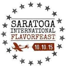 saratoga flavorfeast 2015 logo