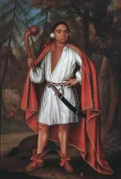 Mahican leader Etow Oh Koam
