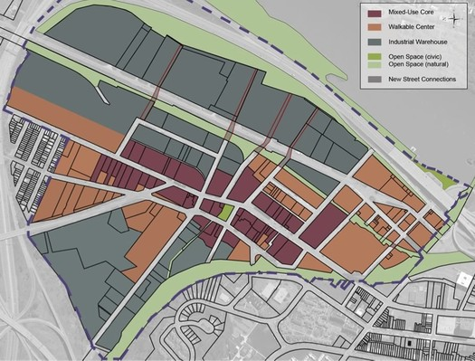 Warehouse District regulating plan