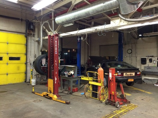 albany high school auto shop abrookin