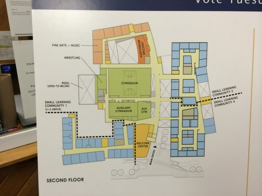 albany high school plan floor plan