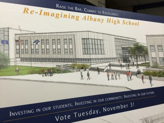 albany high school renovation rendering