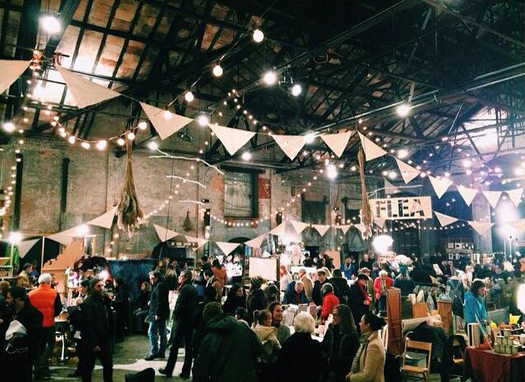 basilica farm flea photo