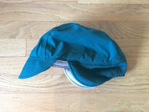 dorky green winter hat