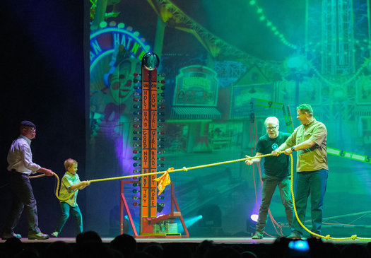 mythbusters stage show