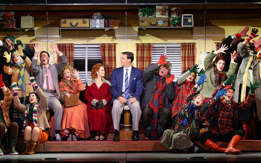 Irving Berlin's White Christmas touring production