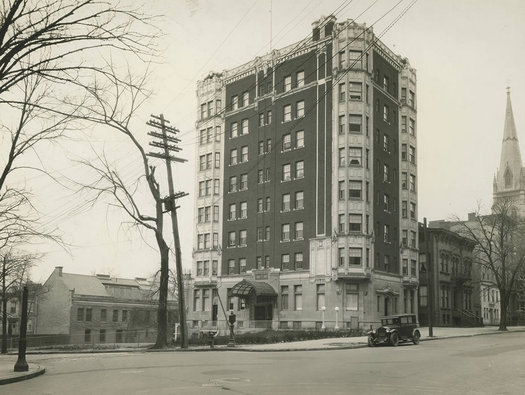 Fort Frederick Apartments 1920s or 30s State Street Albany undated