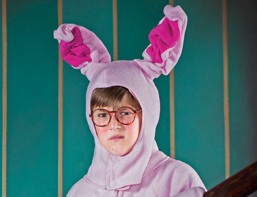 capital rep christmas story bunny suit