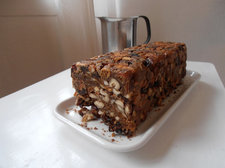 fruitcake on plate Flickr storebukkebruse CC