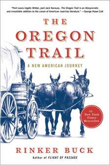 oregon trail book cover rinker buck