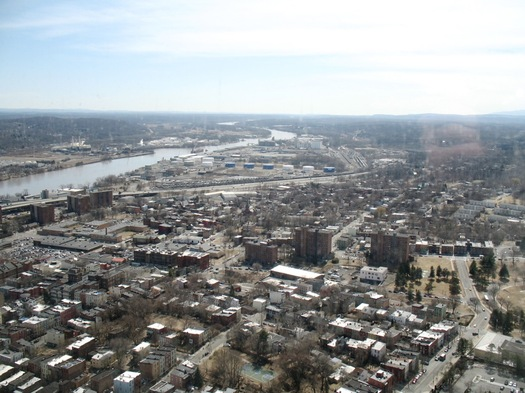 south end from Corning Tower 2014-April