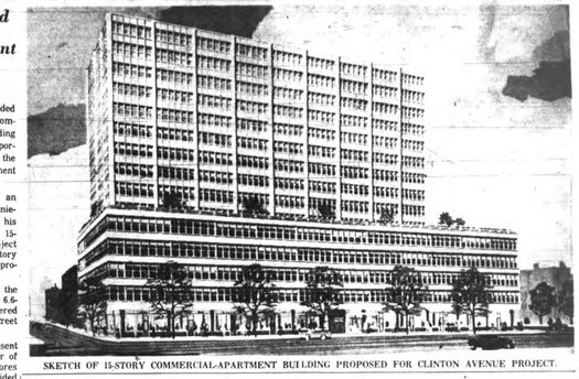 1963 Clinton Ave mixed use proposal